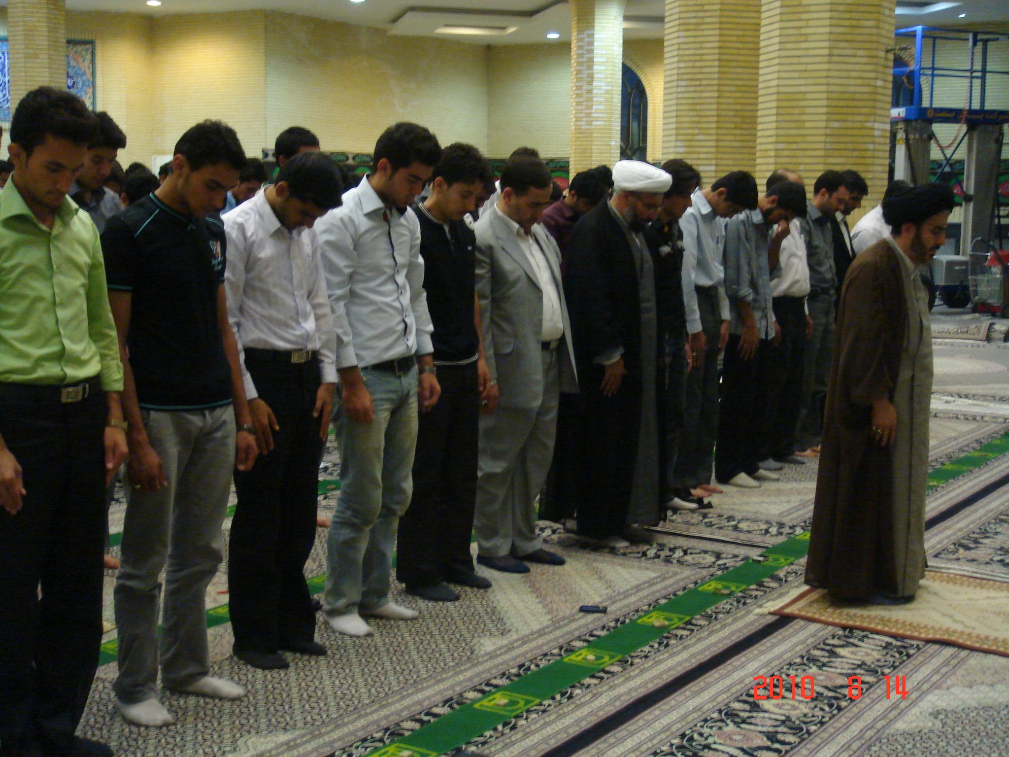 Image result for جماعت در مسجد